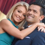 Kelly Ripa and Mark Consuelos show some skin in steamy poolside snapshot with pal Jake Shears 💥💥