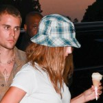 Justin Bieber and Hailey Baldwin spotted arm-in-arm, enjoying ice cream during sweet date night 💥👩💥