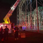 Texas firefighters rescue 8 teens stuck at top of New Mexico roller coaster for 2 hours 💥💥💥💥