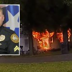Cop runs into explosive house fire to rescue disabled woman, bodycam video shows 💥💥💥💥
