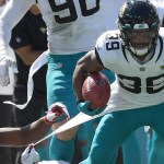 Jaguars' Jamal Agnew returns Cardinals missed field goal 109 yards for electric touchdown before halftime 💥💥