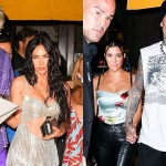 Machine Gun Kelly, Megan Fox join Kourtney Kardashian and Travis Barker for late-night post-VMAs dinner in NYC 💥👩💥