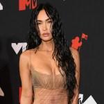 Megan Fox hits MTV VMAs 2021 red carpet in naked see-through dress 💥👩💥