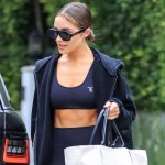 Olivia Culpo turns heads as she shows off toned abs after workout class 💥👩💥