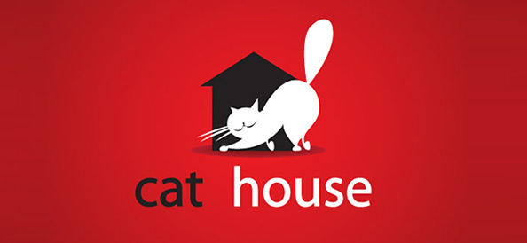 Cat Vector Logo Design