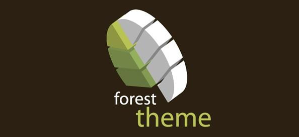 Forest Logo Vector Design