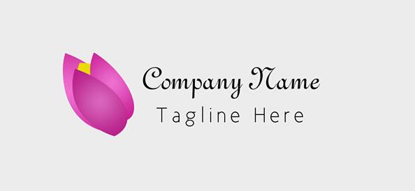 Free Flower Logo Design