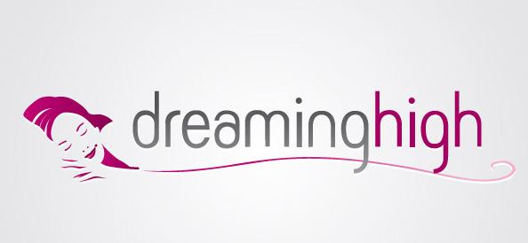 Vector Logo of Dreaming Woman