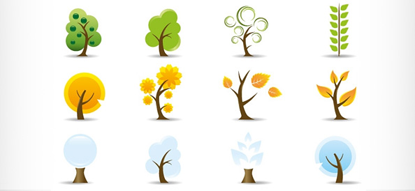 12 Free Vector Tree Logo Templates