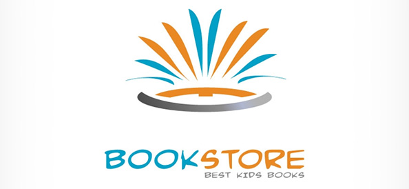 Abstract Logo Design for Book Stores