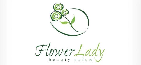 Free Flower Logo Template