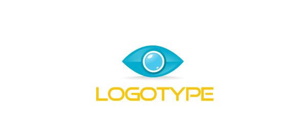 Eye Logo Template for Business and Communications