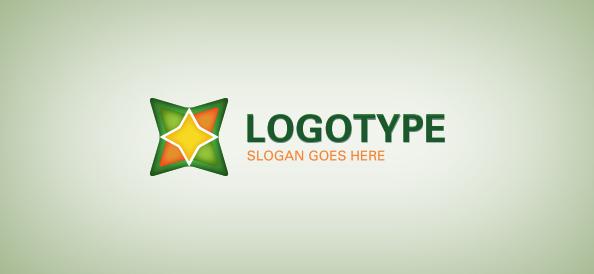 Colorful Shape Logo Template