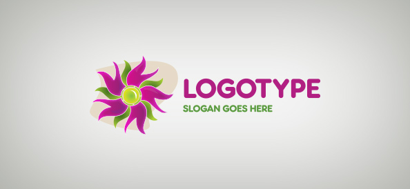 Creative Flower Logo Template