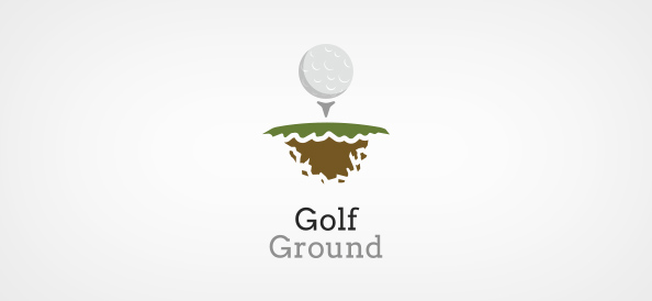 Golf Ground Logo Template