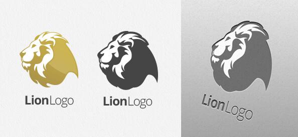 Free Lion Logo Design