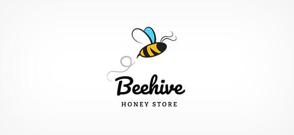 Free Beehive Logo Design