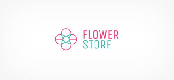 Free Flower Store Logo Design