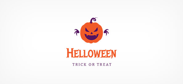 Free Halloween Logo Design Template