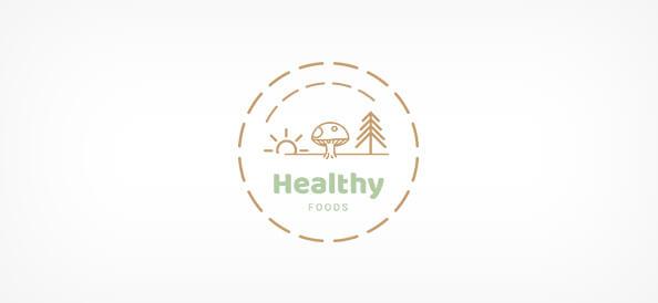 Free Health Food Logo Design