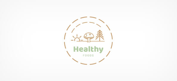 Free Health Food Logo Design