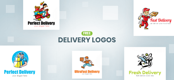 Free Delivery Logo Templates