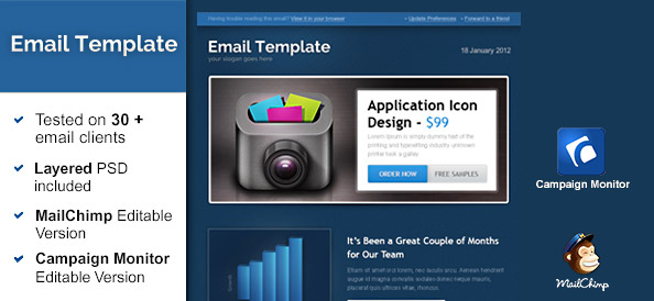 Business newsletter template free mail templates free mail templatesdark templatesbusiness newsletter template friedricerecipe Choice Image