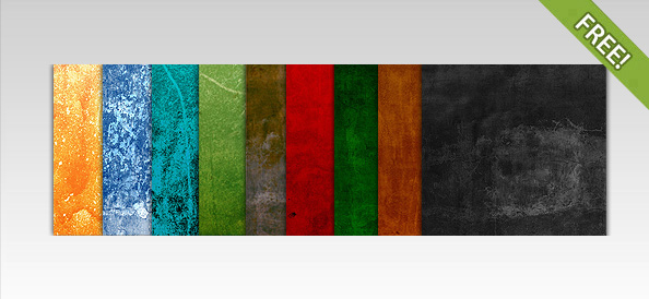 10 Colorful Textures