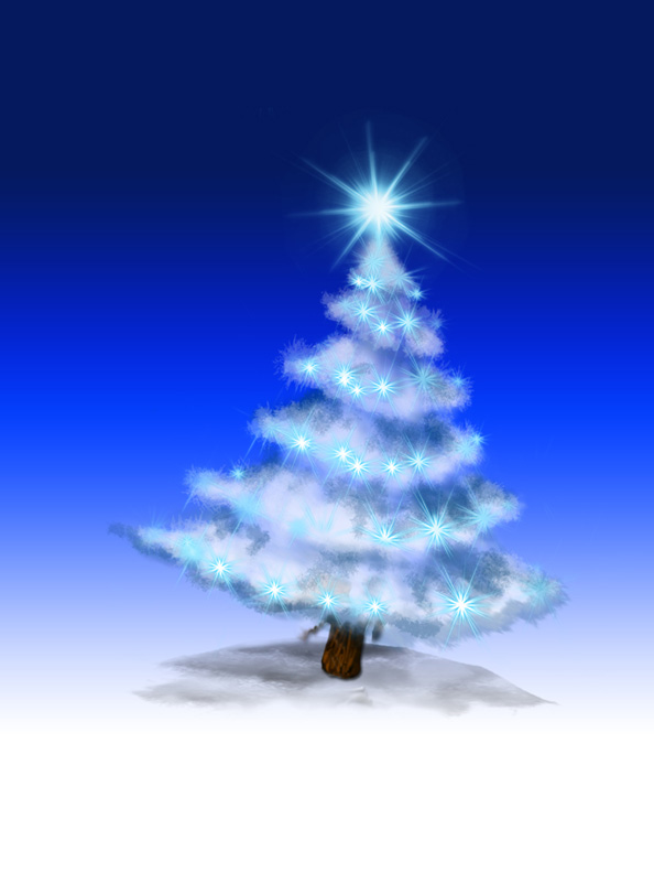 Free Christmas Tree Illustration