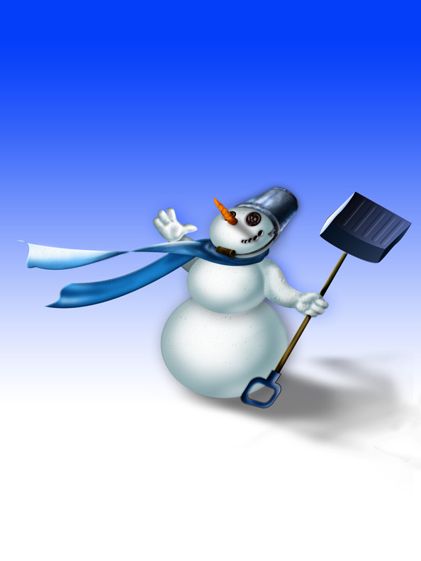 Free Snowman Illustration