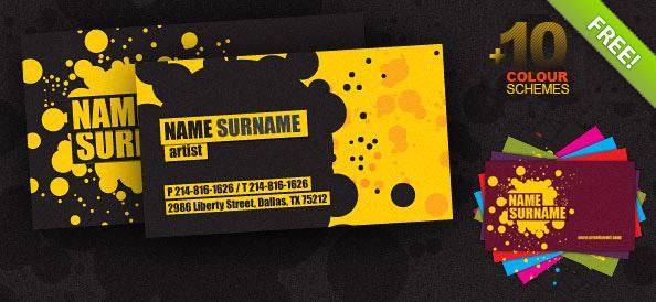 Creative Business Card PSD Template