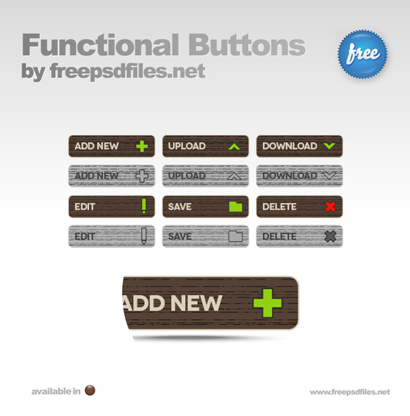 Functional Buttons Preview Big