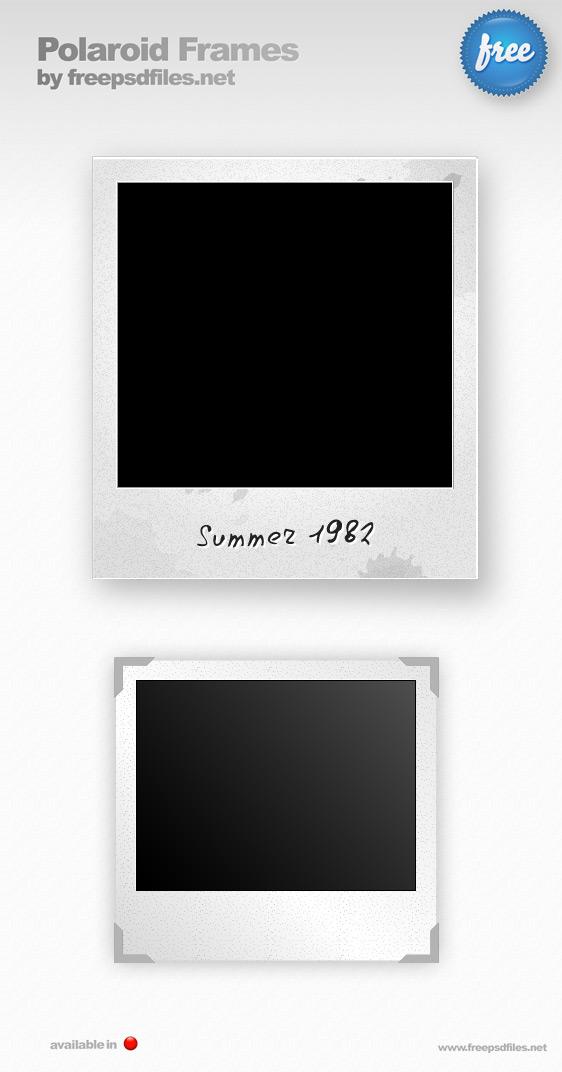 Polaroid Photo Frames Preview Big