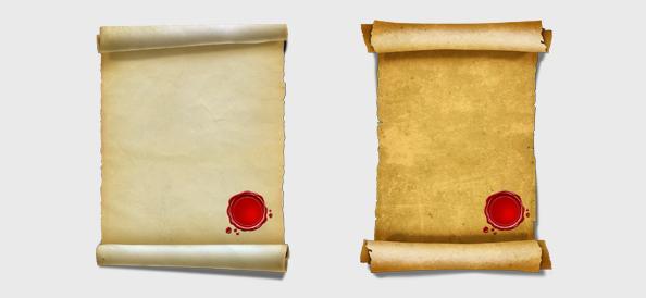Papyrus PSD Graphics