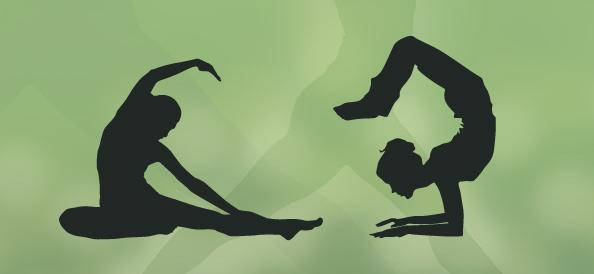 Yoga Silhouettes Set 1