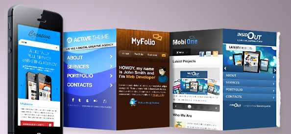 App Showcase PSD Mockups