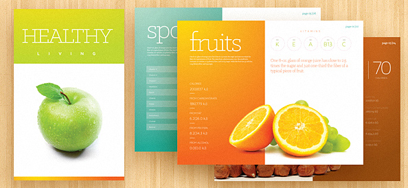 Brochure Template PSD Free PSD Files - Template for brochure