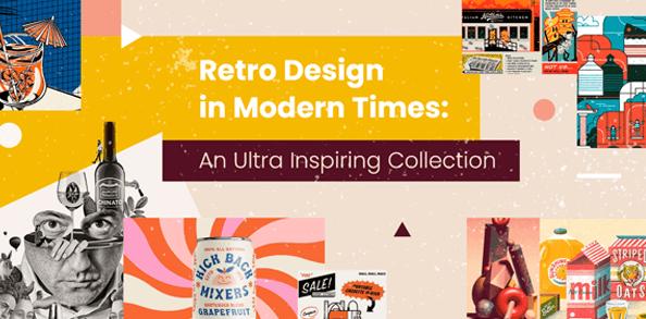amazing modern retro design examples