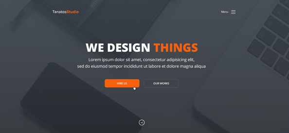 Free Corporate Website Template