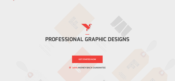 Free Modern Contest Website Template