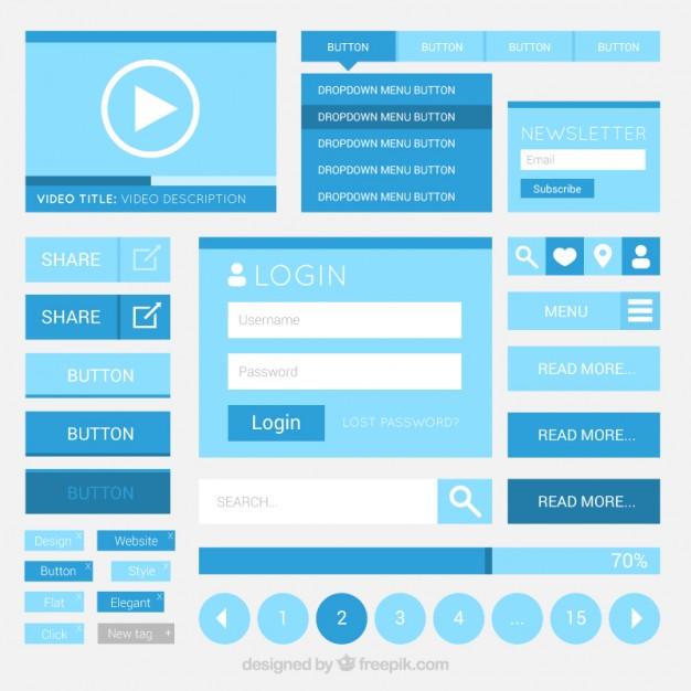 blue-web-elements