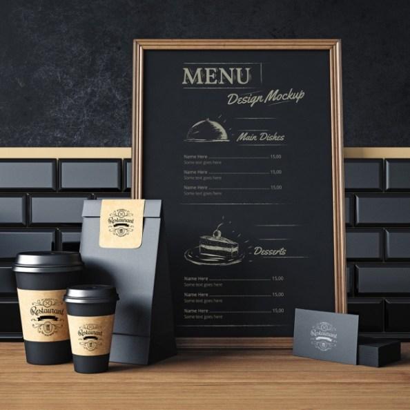 restaurant-elements-mock-up-design