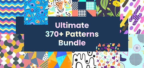 seamless pattern designs set