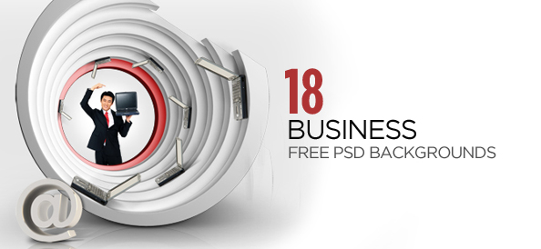 18 Finance and Corporate Free PSD Business Backgrounds