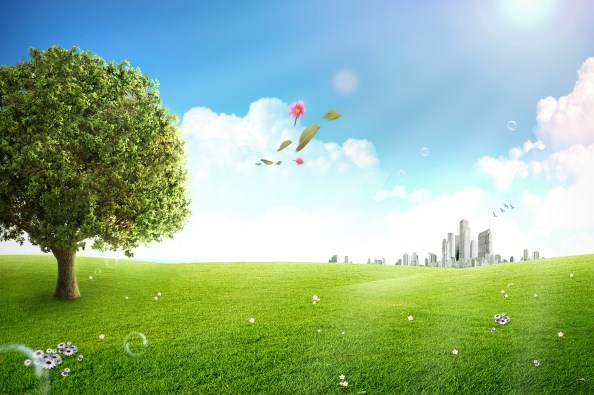 nature background outside city free psd background 2250x1497