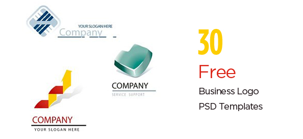 30 free psd business logo templates to nourish success flashek Images