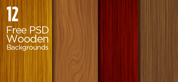 12 Free PSD Wooden Backgrounds for Beautifully Crafted Designs