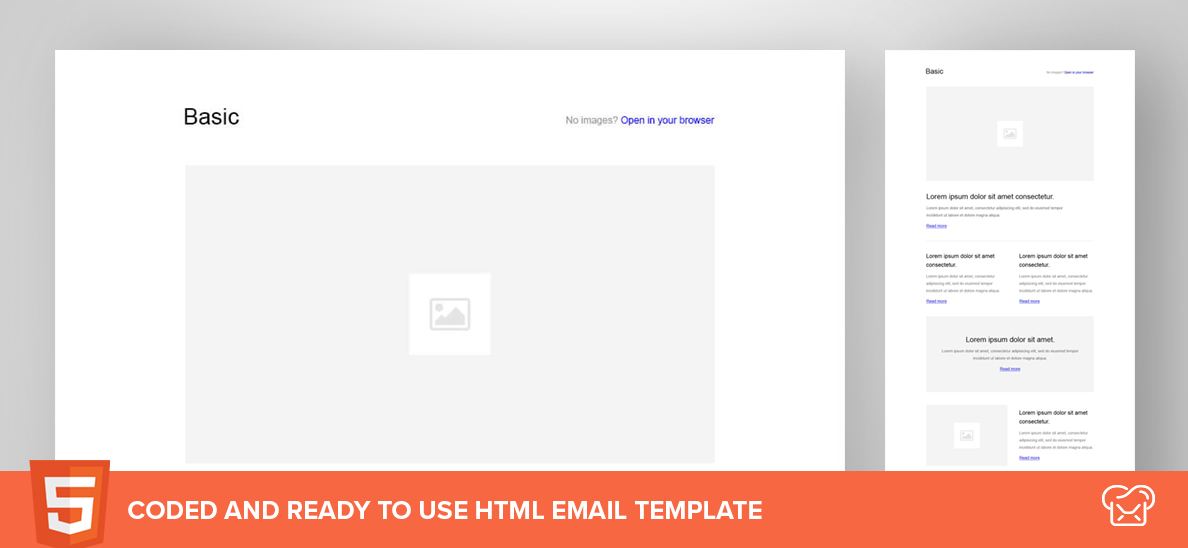 Basic – Free HTML Email Template