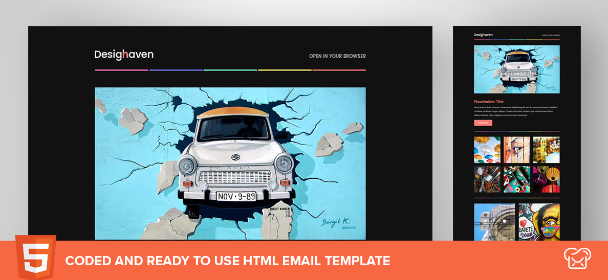 Design Haven – Free HTML Email Template