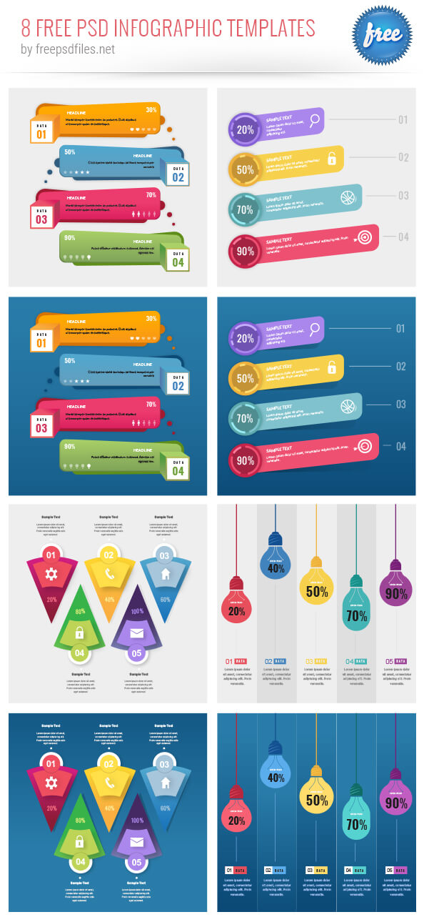 Free PSD Infographic Templates-collection-big-preview